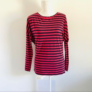 Lilly Pulitzer long sleeve stripes shirt